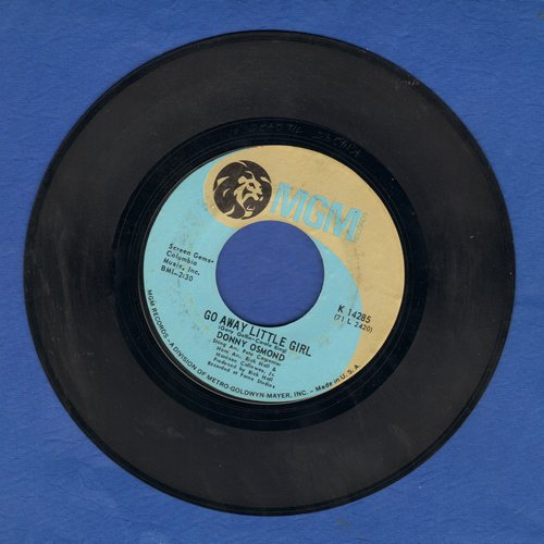 Osmond, Donny - Go Away Little Girl/The Wild Rover (Time To Ride)  - EX8/ - 45 rpm Records