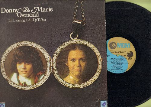 Osmond, Donny & Marie - I'm Leaving It All Up To You:  Morning Side Of The Mountain, True Love, Let It Be Me, It Takes Two (vinyl STEREO LP record) - NM9/VG7 - LP Records