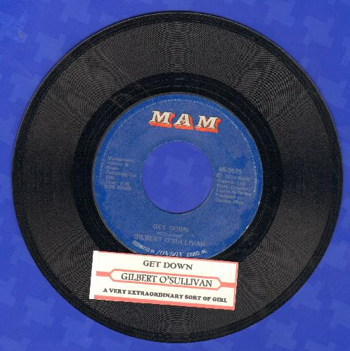 O'Sullivan, Gilbert - Get Down/A Very Extraordinary Sort Of Girl (with juke box label) - RX8/ - 45 rpm Records