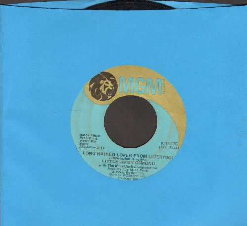 Osmond, Little Jimmy - Long Haired Lover From Liverpool/Mother Of Mine - G5/ - 45 rpm Records