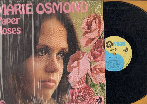 Osmond, Marie - Paper Roses: Fool No. 1, Sweet Dreams, Too Many Rivers (vinyl STEREO LP record) - NM9/NM9 - LP Records