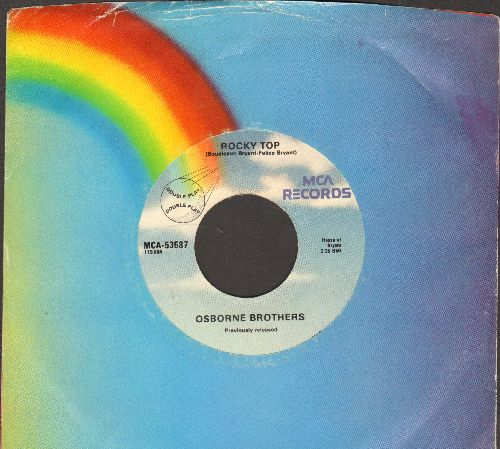 Osborne Brothers - Rocky Top/Up This Hill And Down (re-issue with MCA company sleeve) - NM9/ - 45 rpm Records