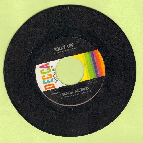 Osborne Brothers - Rocky Top/Up This Hill And Down - VG7/ - 45 rpm Records