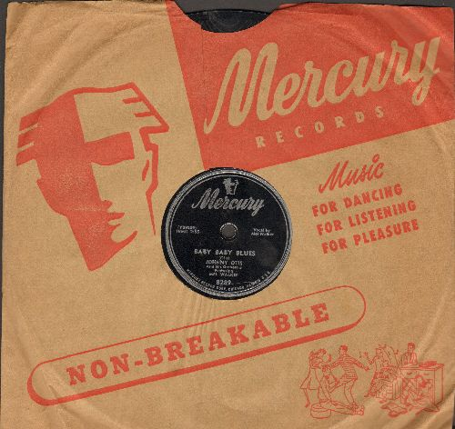 Otis, Johnny - Baby Baby Blues/Call Operator 210 (10 inch 78 rpm record with Mercury company sleeve) - EX8/ - 78 rpm
