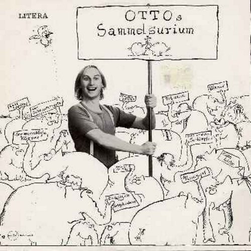 Otto - Otto's Sammelsurium: Collection of most hilarious stage numbers by Germany's favorite Village Idiot, Otto Wahlkes. Germany's most successful and best known stand-up comic of the 1970s & 80s. This vinyl LP record (made in the former East Germany) ha