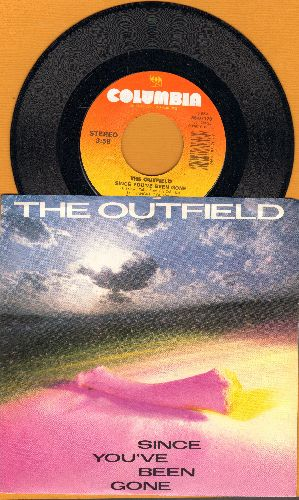 Outfield - Since You've Been Gone/Better Than Nothing (with picture sleeve) - NM9/ - 45 rpm Records