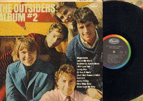 Outsiders - The Outsiders Album #2: Respectable, Cool Jerk, Hanky Panky, Since I Lost My Baby, (Just Like) Romeo & Juliet (Vinyl MONO LP record) - VG7/VG7 - LP Records