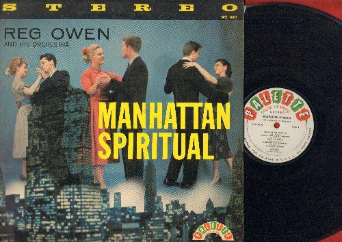 Owen, Reg & His Orchestra - Manhattan Spirutual: Jack The Ripper, Car Hop, The Swinging Brigade, Lullaby Of Birdland, Brainwave (Vinyl LP record, RARE 1958 STEREO pressing) - EX8/EX8 - LP Records