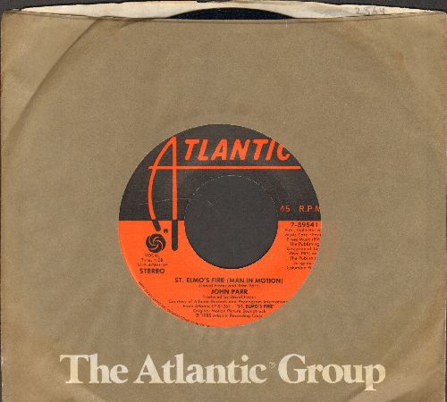 Parr, John - St. Elmo's Fire/One Love (with Atlantic company sleeve) - EX8/ - 45 rpm Records