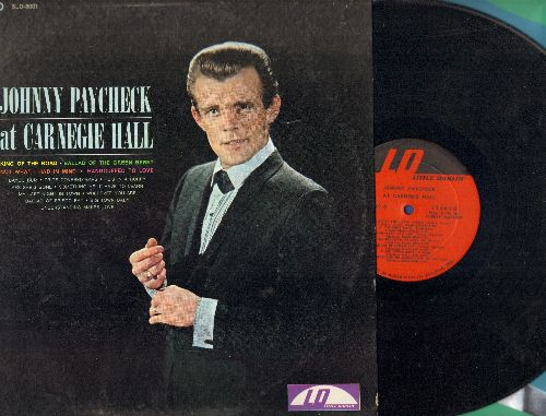 Paycheck, Johnny - At Carnegie Hall: King Of The Road, Ballad Of The Green Beret, Bayou Bum, Big Town Baby, He's In A Hurry (vinyl STEREO LP record) - NM9/EX8 - LP Records