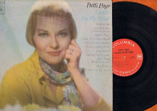 Page, Patti - Gentle On My Mind: Release Me, Green Green Grass Of Home, Little Green Apples, Honey (I Miss You), Am I That Easy To Forget? (Vinyl STEREO LP record) - EX8/VG7 - LP Records