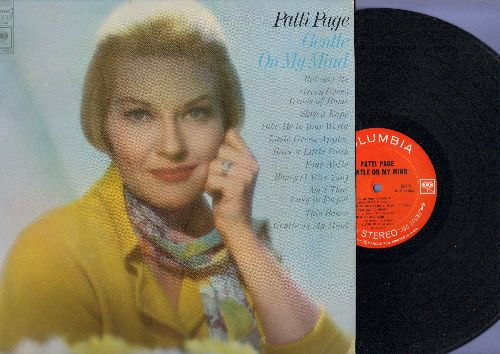 Page, Patti - Gentle On My Mind: Release Me, Green Green Grass Of Home, Little Green Apples, Honey (I Miss You), Am I That Easy To Forget? (Vinyl STEREO LP record, NICE condition!) - NM9/NM9 - LP Records