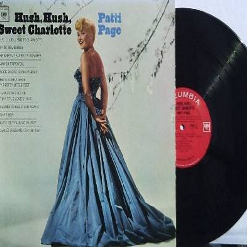Page, Patti - Hush, Hush, Sweet Charlotte: Try To Remember, Jamaica Farewell, Danny Boy, Can't Help Falling In Love, Scarlet Ribbons (Vinyl MONO LP record) - NM9/EX8 - LP Records