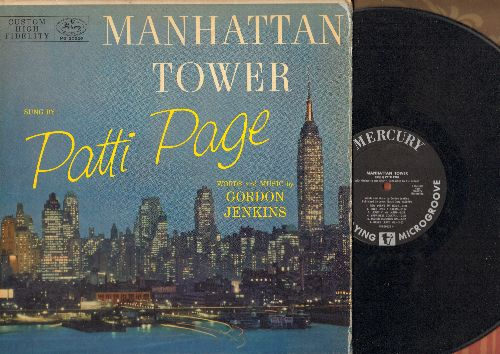 Page, Patti - Manhatten Tower: New York's My Home, Married I Can Always Get, Repeat After Me, Indian Giver, The Party (Noah) (Vinyl MONO LP record) - EX8/VG7 - LP Records