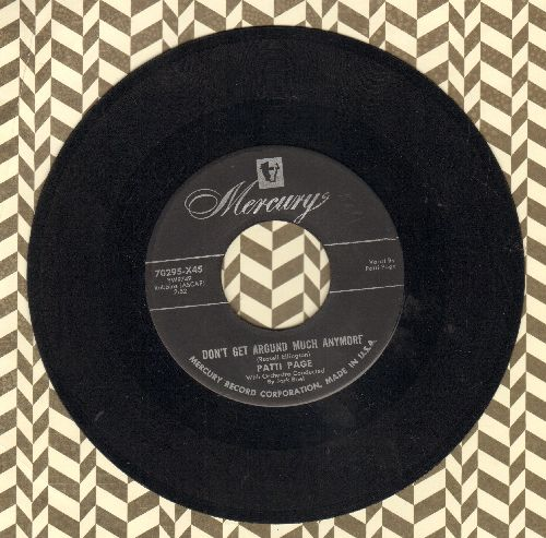 Page, Patti - Oo What You Do To Me/Now That I'm In Love - EX8/ - 45 rpm Records