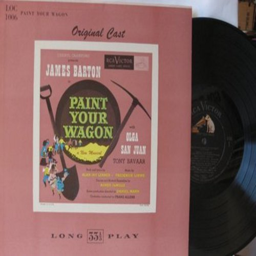 Paint Your Wagon - Paint Your Wagon - Original Motion Picture Sound Track. Includes They Call The Wind Maria (Vinyl LP record, 1980s pressing) - NM9/EX8 - LP Records