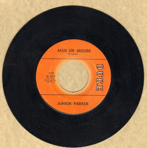 Parker, Little Junior - Man Or Mouse/Wait For Another Day - EX8/ - 45 rpm Records