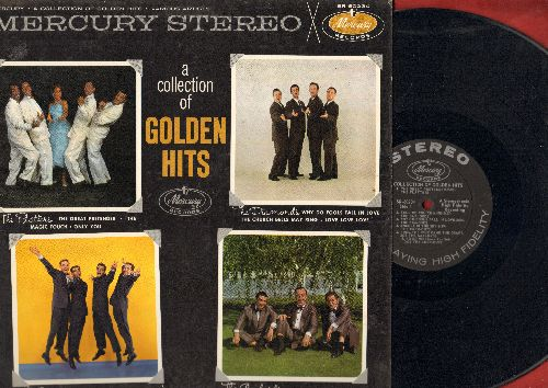 Platters, Crew-Cuts, Diamonds, Gaylords - A Collection Of Golden Hits: Sh-Boom, Why Do Fools Fall In Love, Only You, Angels In The Sky, Church Bells May Ring (Vinyl STEREO LP record) - NM9/EX8 - LP Records
