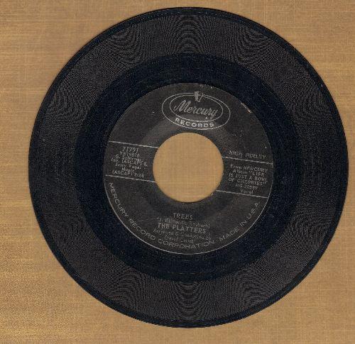 Platters - Immortal Love/Trees - EX8/ - 45 rpm Records