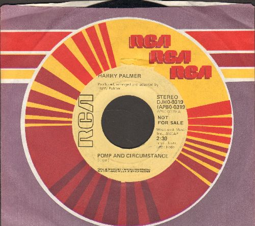 Palmer, Harry - Pomp And Circumstance (double-A-sided DJ advance pressing with RCA company sleeve) (minor wol) - NM9/ - 45 rpm Records