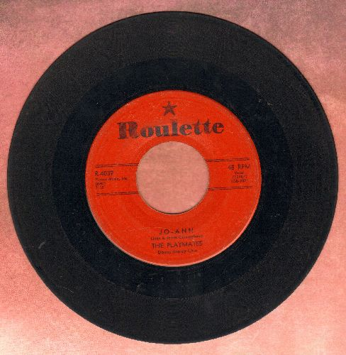 Playmates - Jo-Ann/You Can't Stop Me From Dreaming (red label first issue) - G5/ - 45 rpm Records