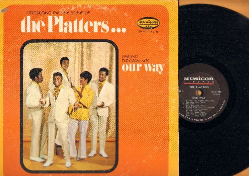 Platters - Our Way: Unchained Melody, Catch The Wind, Delilah, Sayonara, My Way, Sentimantal Journey (Vinyl STEREO LP record) - NM9/VG7 - LP Records