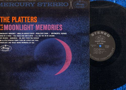 Platters - Moonlight Memories: Sentimental Journey, In A Little Spanish Town, I'll See You In My Dreams (vinyl STEREO LP record) - NM9/NM9 - LP Records