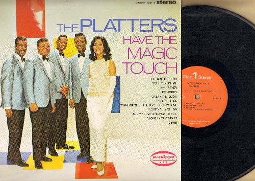 Platters - The Platters Have The Magic Touch: My Prayer, Wish It Were Me, I'm Sorry, One In A Million (Vinyl STEREO LP record) - NM9/NM9 - LP Records