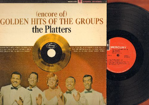 Platters - (Encore Of) Golden Hits Of The Groups: Sincerely, Day-O, Java Jive, The Three Bells, Crying In The Chapel (vinyl STEREO LP record) - EX8/EX8 - LP Records