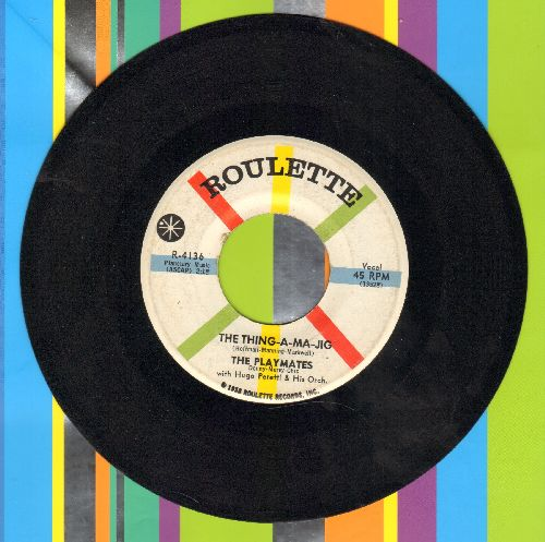 Playmates - The Thing-A-Ma-Jig/Star Love - NM9/ - 45 rpm Records