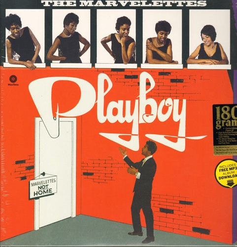 Marvelettes - Playboy: Beechwood 4-5789, Twistin' Postman, Someday Someway, Mix It Up, Slow Twist (Vinyl LP record, Digitally Remastered re-issue on 180 gram Virgin Vinyl, EU Pressing, SEALED, never opened!) - SEALED/SEALED - LP Records