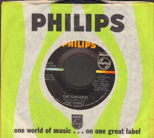 Panics - The Kangaroo/It Ain't What You Got (with vintage Philips company sleeve) (bb) - NM9/ - 45 rpm Records