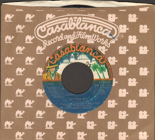 Fanny - Butter Boy/Beggar Man (with Casablanca company sleeve) - EX8/ - 45 rpm Records