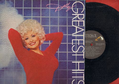 Parton, Dolly - Greatest Hits: 9 to 5, Here You Come Again, I Will Always Love You, Me And Little Andy (vinyl STEREO LP record, gate-fold cover) - EX8/EX8 - LP Records
