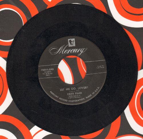 Page, Patti - Let Me Go, Lover/Hocus-Pocus - EX8/ - 45 rpm Records