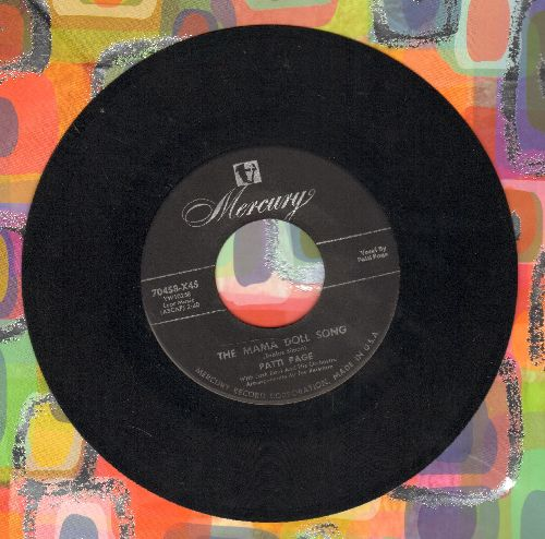 Page, Patti - The Mama Doll Song/I Can't Tell A Waltz From A Tango - EX8/ - 45 rpm Records