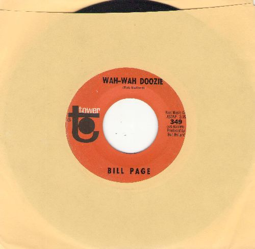 Page, Bill - Wah-Wah Doozie/Sunday Will Never Be The Same - EX8/ - 45 rpm Records