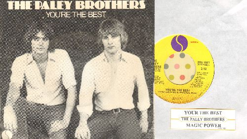 Paley Brothers - You're The Best/Magic Power (with picture sleeve and juke box label) - NM9/EX8 - 45 rpm Records