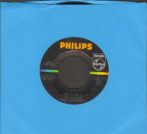 Paul & Paula - Hey Paula/Bobby Is The One (MINT condition!) - M10/ - 45 rpm Records