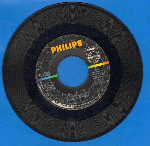 Paul & Paula - Ba-Hey-Be/Young Lovers - VG7/ - 45 rpm Records