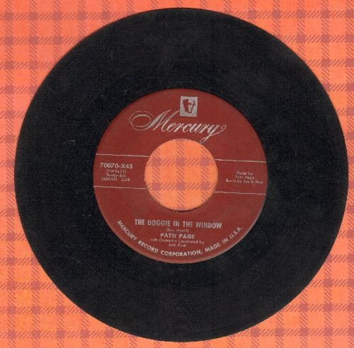 Page, Patti - The Doggie In The Window/My Jealous Eyes (burgundy label) - VG7/ - 45 rpm Records