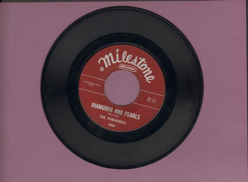 Paradons - Diamonds And Pearls/I Want Love (burgundy label first issue) - EX8/ - 45 rpm Records