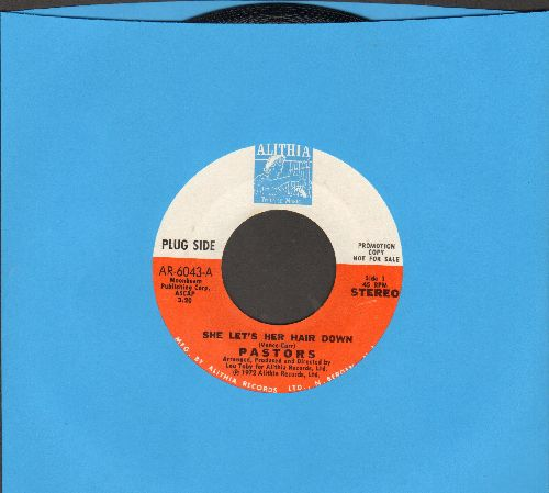 Pastors - She Let's Her Hair Down/Solitude - NM9/ - 45 rpm Records