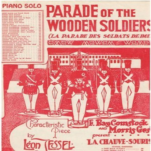 Parade Of The Wooden Soldiers - Parade Of The Wooden Soldiers - Vintage SHEET MUSIC of the famous piano solo - (This is SHEET MUSIC, not any other kind of media) - EX8/ - Sheet Music