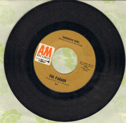 Parade - Sunshine Girl/This Old Melody  - EX8/ - 45 rpm Records