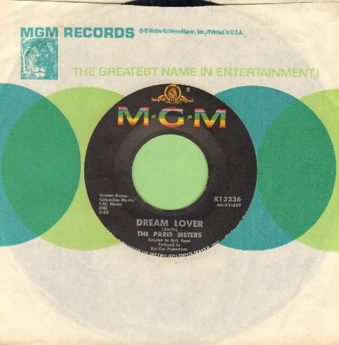 Paris Sisters - Dream Lover/Lonely Girl (with MGM company sleeve) - EX8/ - 45 rpm Records