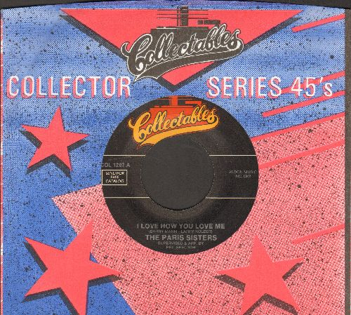 Paris Sisters - I Love How You Love Me/All Through The Night (re-issue with company sleeve) - M10/ - 45 rpm Records