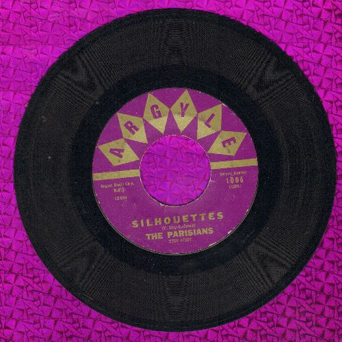 Parisians - Silhouettes/Esther (ULTRA-DREAMY Instrumental 2-sider!) - EX8/ - 45 rpm Records