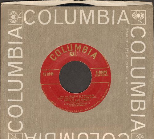Parker, Fess - The Ballad Of Davy Crockett/I Gave My Love (Riddle Song) (with Columbia company sleeve) - EX8/ - 45 rpm Records