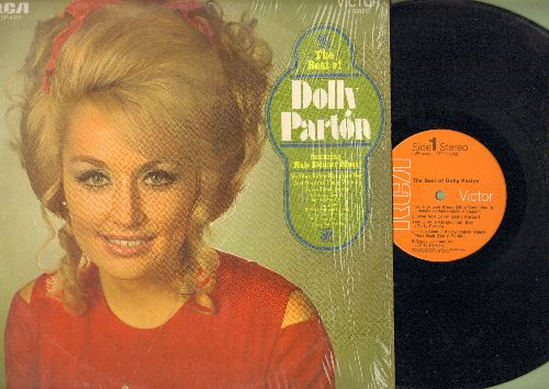 Parton, Dolly - The Best Of: Muleskinner Blues, My Blue Ridge Mountain Boy, In The Ghetto, Down From Dover (Vinyl STEREO LP record) - NM9/NM9 - LP Records